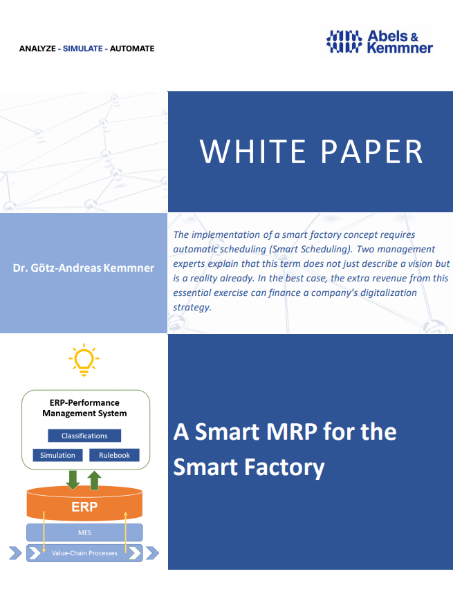 White Paper MRP and Smart Factory | Abels & Kemmner