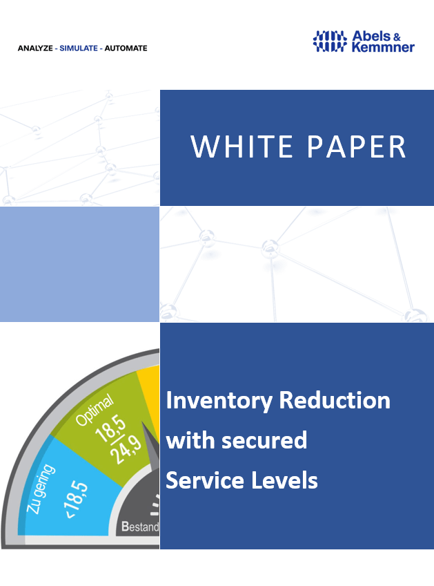 White Paper Inventory reduction and Service Level | Abels & Kemmner