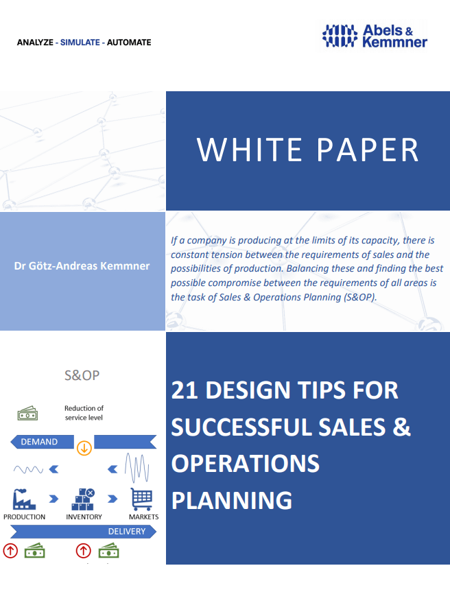 White Paper successful Sales & Operations Planning | Abels & Kemmner